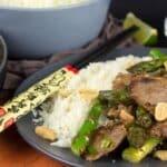 steak asparagus stir fry