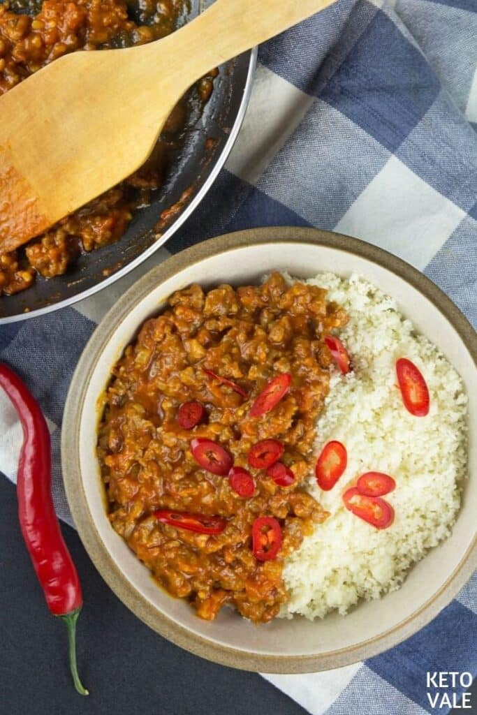 low carb chilli