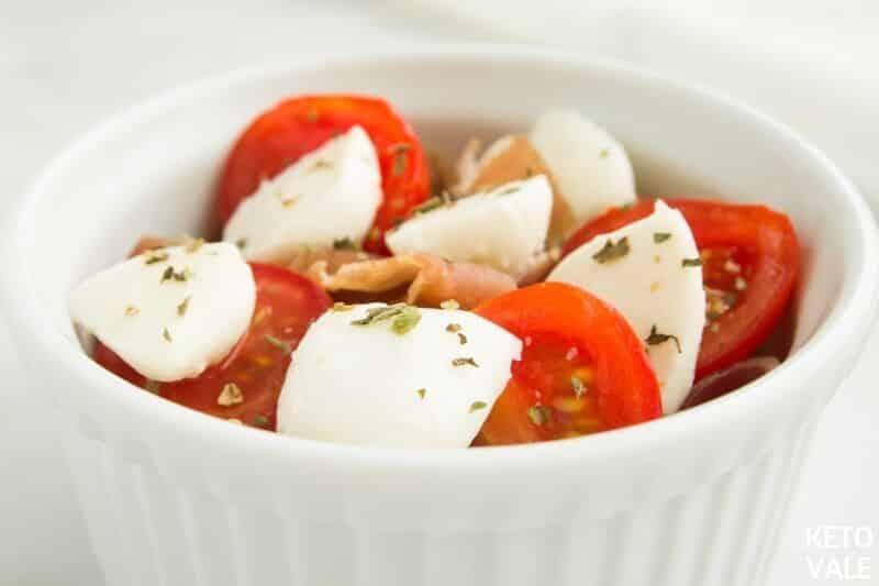 top marinara prosciutto tomato