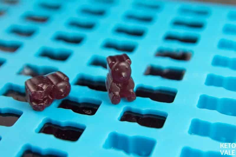 freeze gummy bears