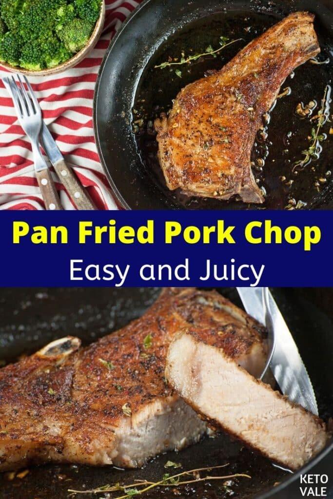 keto fried pork chop recipe