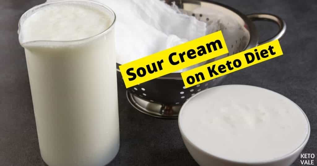 sour cream on keto diet