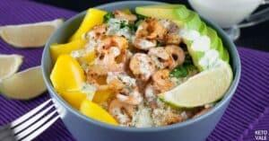 avocado shrimp rice bowl