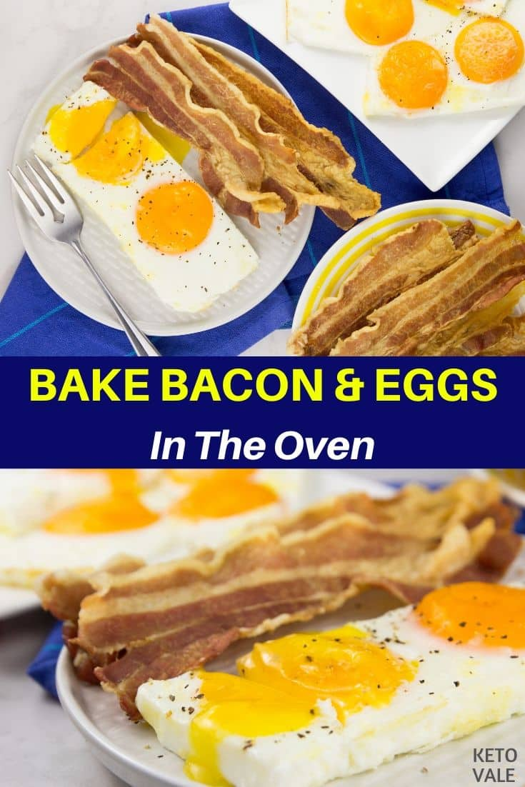 bake bacon eggs in oven