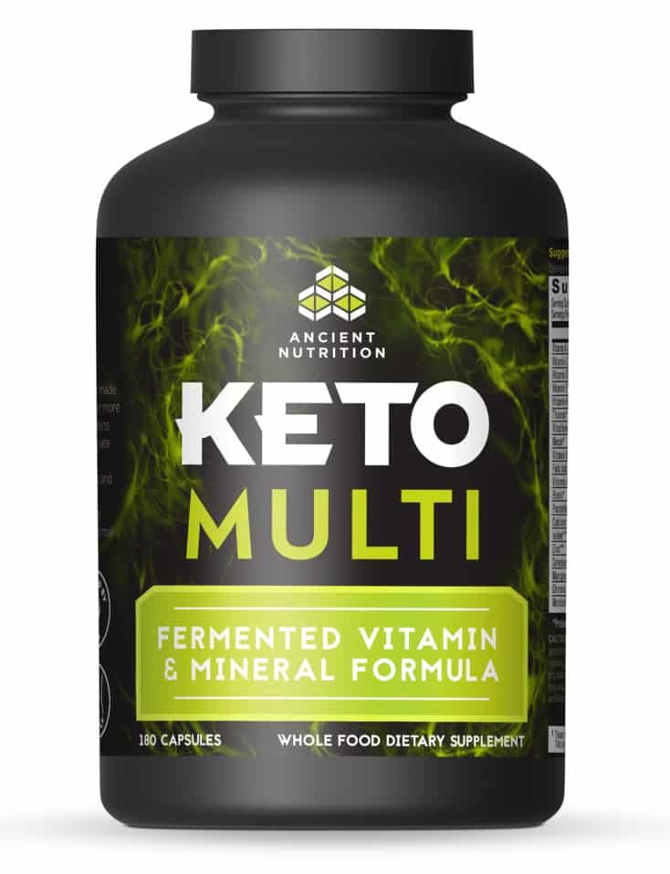 ancient nutrition keto multivitamin