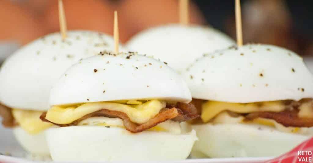 bacon cheese egg bites