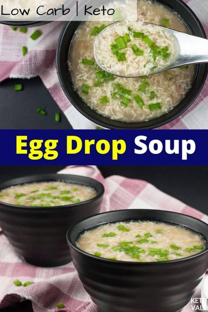 egg drop soup keto