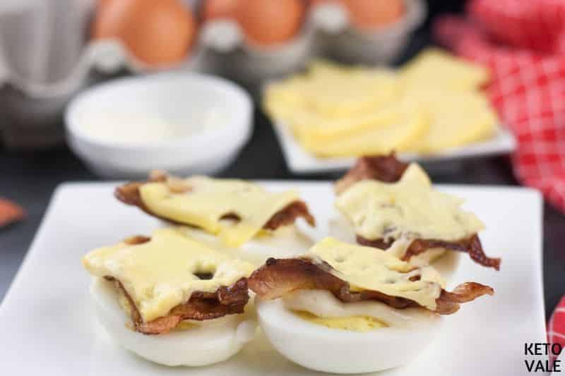 heat egg sandwich
