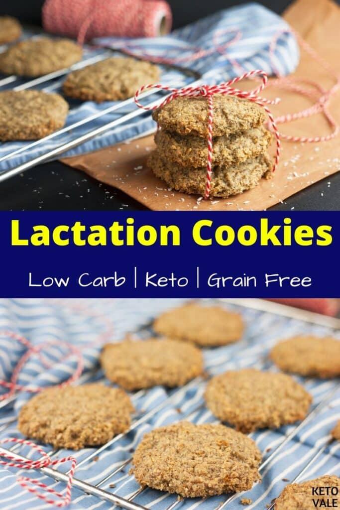 keto lactation cookies