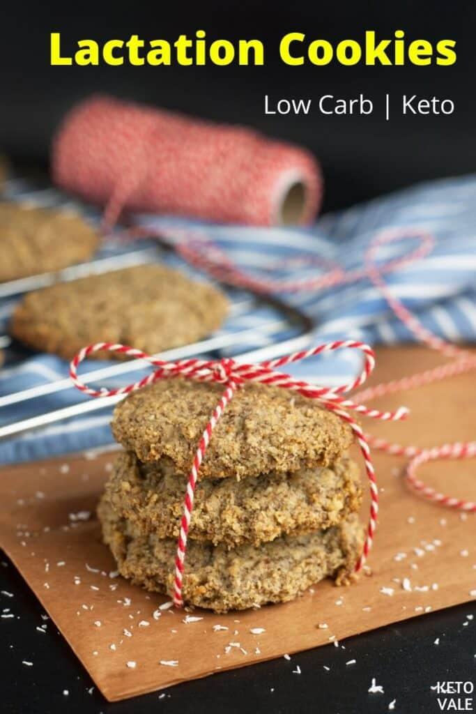 low carb lactation cookies
