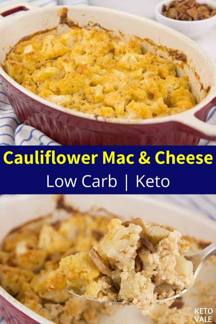 low carb mac and cheese