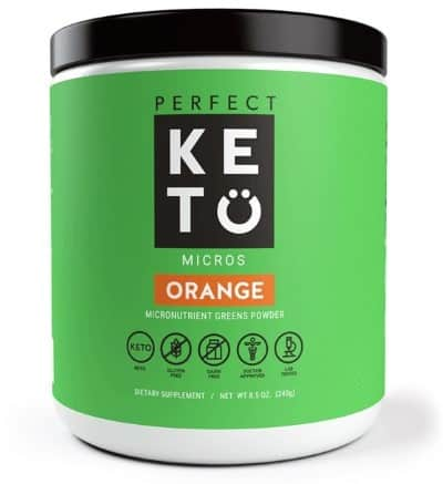 Orange Keto Greens