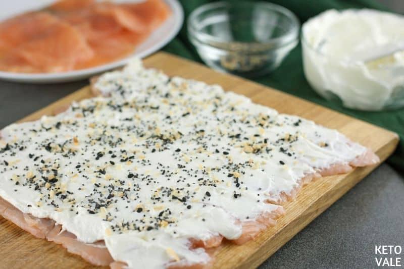 top salmon cream cheese seasoning