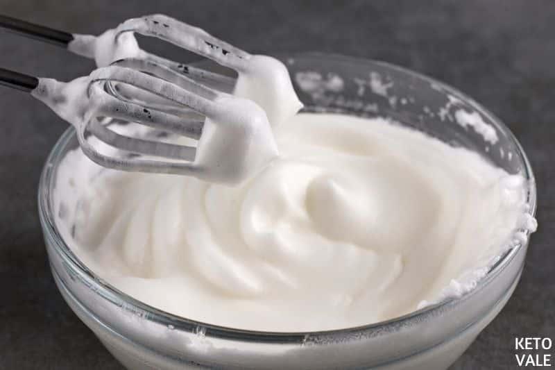 whip egg whites