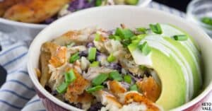cabbage fish taco bowls