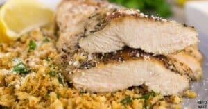 herb chicken cauliflower rice