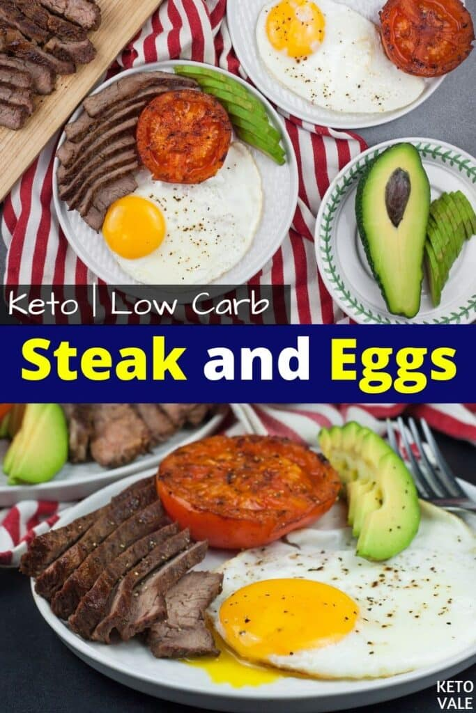 keto steak and eggs