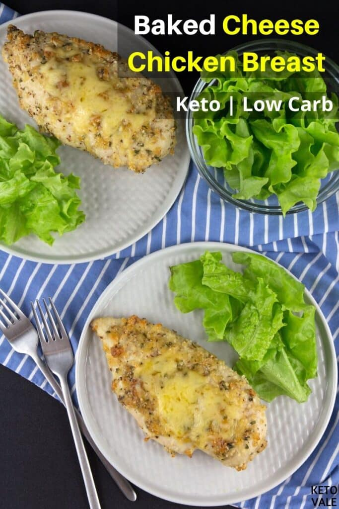 low carb baked cheese chicken breast