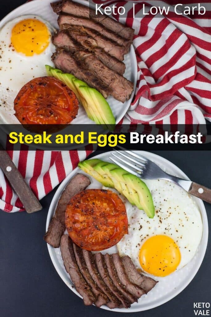 low carb steak and eggs