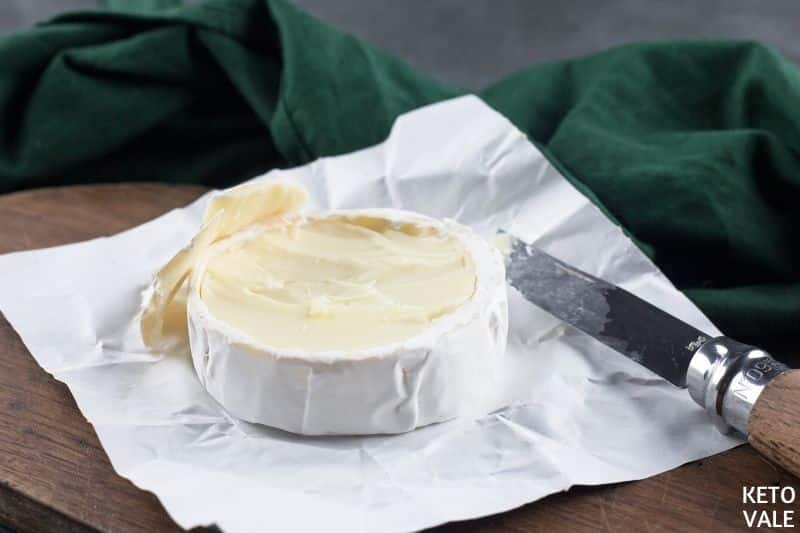 open camembert wheel