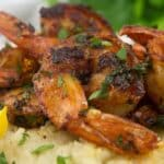 shrimp cauliflower grits