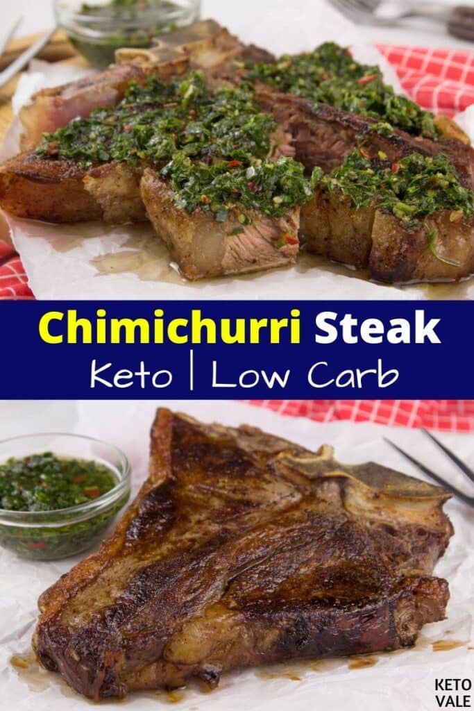 keto chimichurri steak