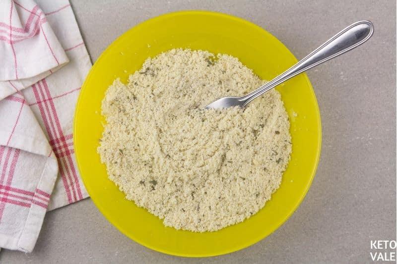 make almond parmesan breadcrumbs