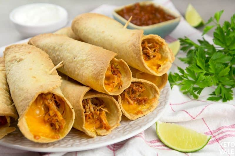 bake chicken taquitos in oven