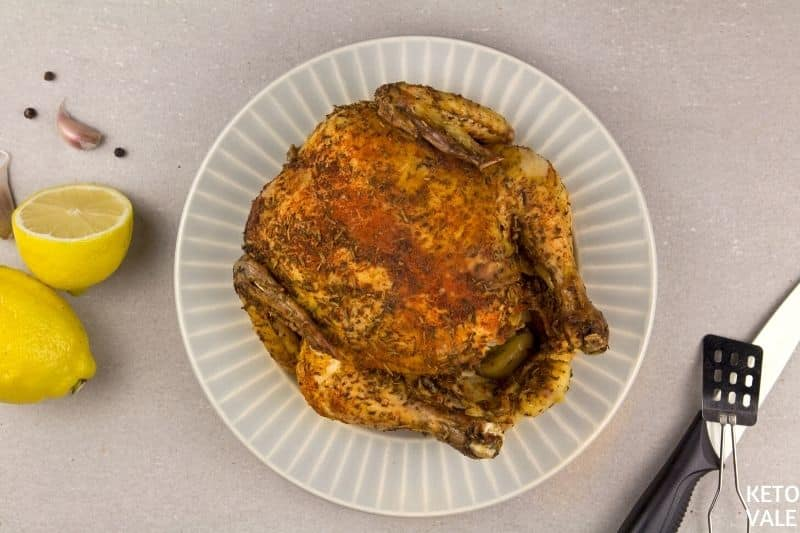 broil whole chicken
