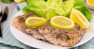 instant pot lemon butter salmon