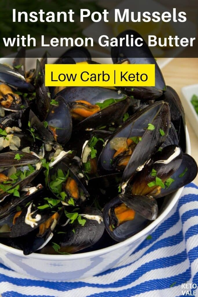 low carb instant pot mussels