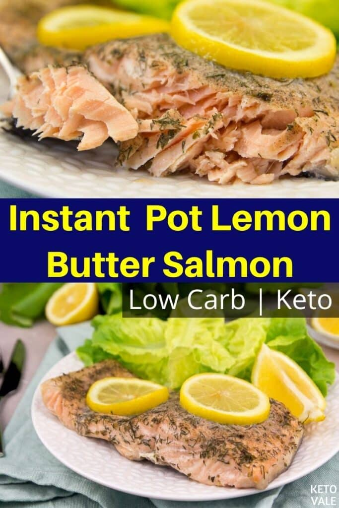 low carb instant pot salmon