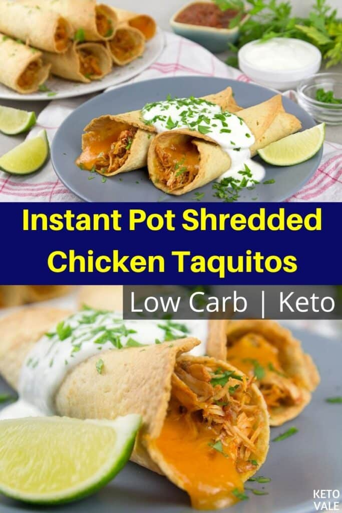 low carb instant pot shredded chicken