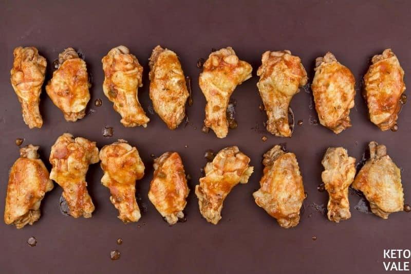 broil chicken wings