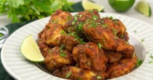 instant pot spicy chicken wings