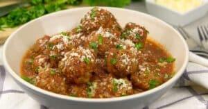 instant pot beef meatballs