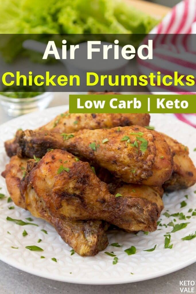 keto air fried chicken drumsticks