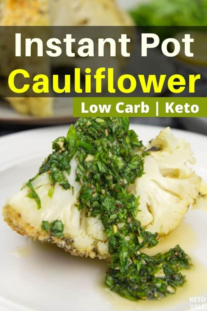 keto instant pot cauliflower