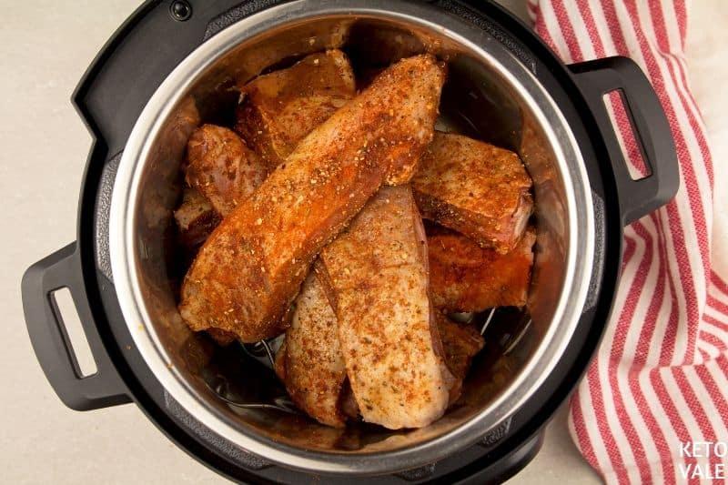 braised short ribs instant pot