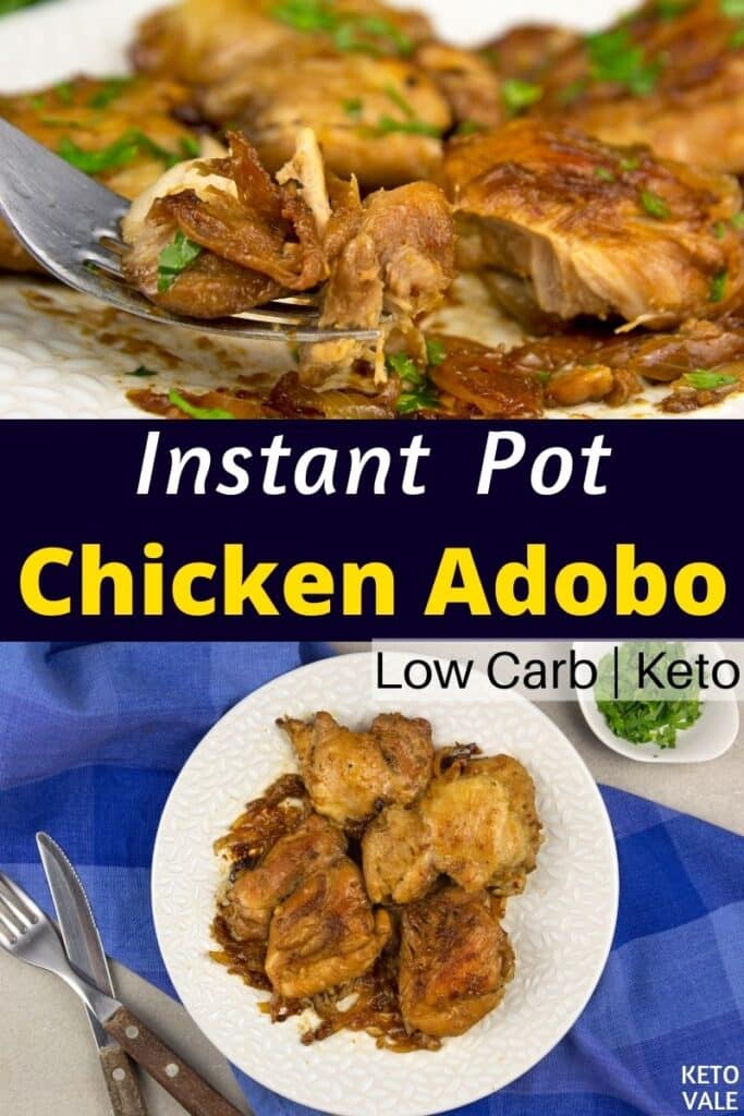 keto chicken adobo