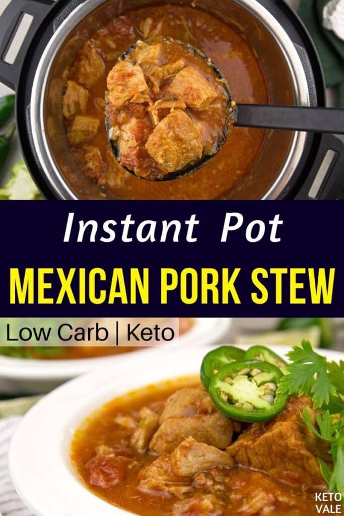 keto instant pot pork stew