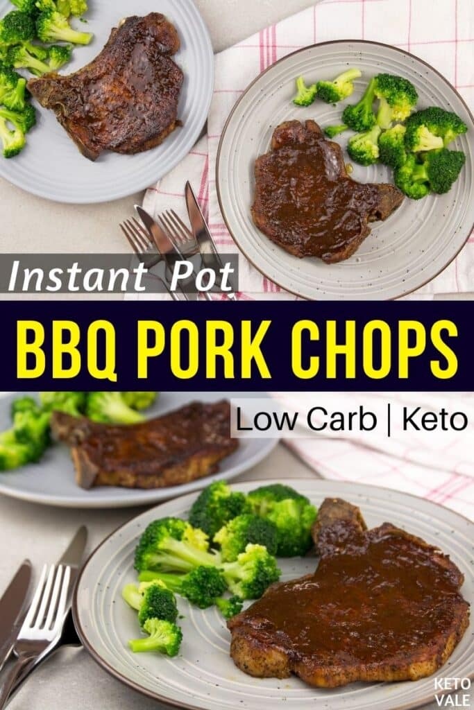 keto instant pot bbq pork chops