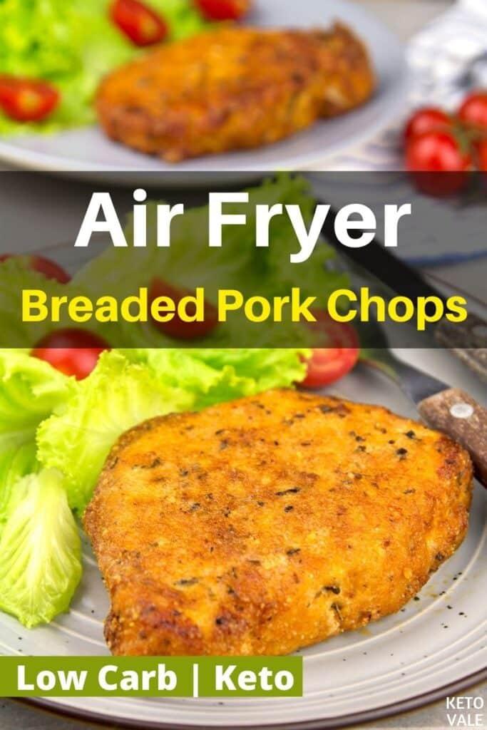 keto air fryer pork chops