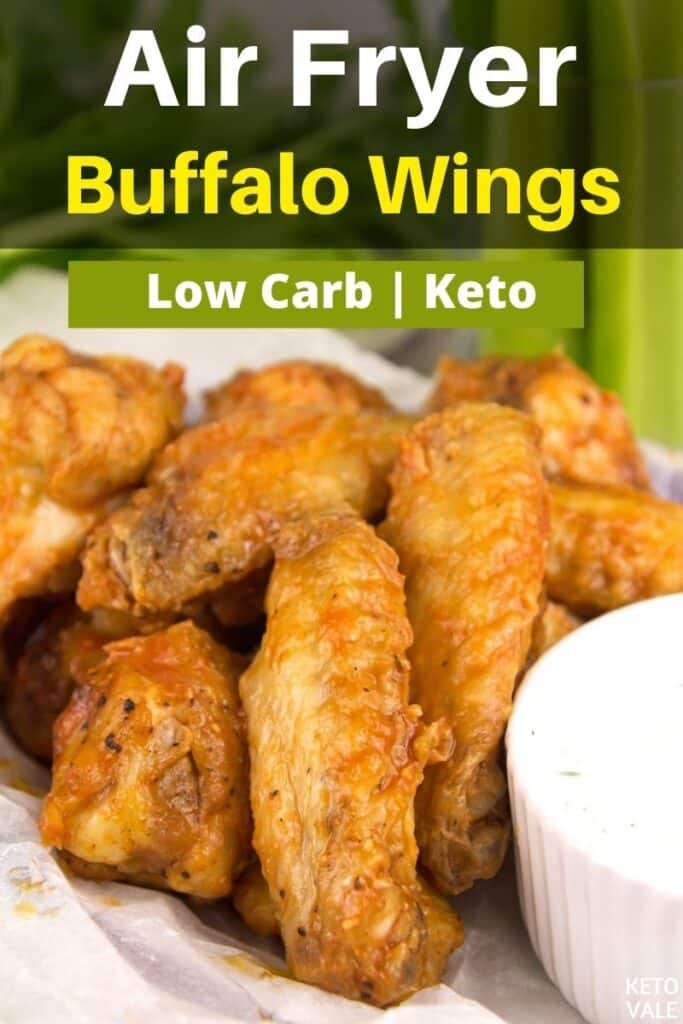 low carb air fryer buffalo wings