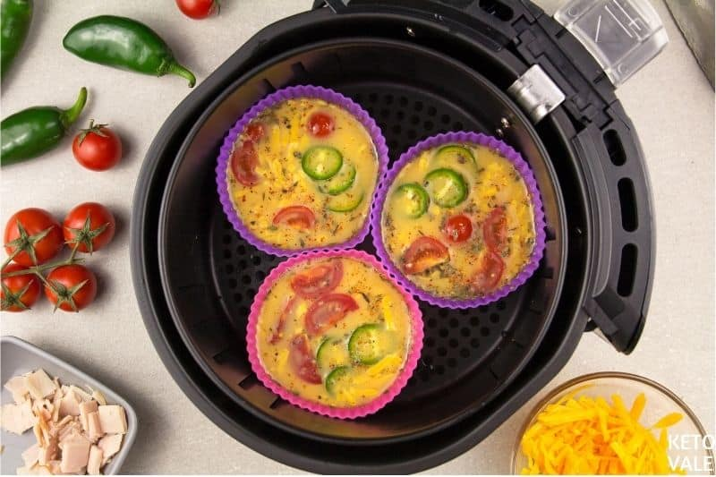 egg muffins in air fryer