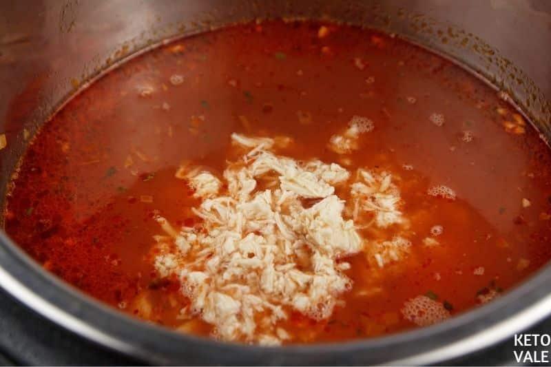 add tomato chicken